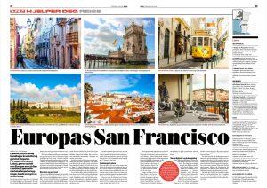 Lisboa artikkel i VG