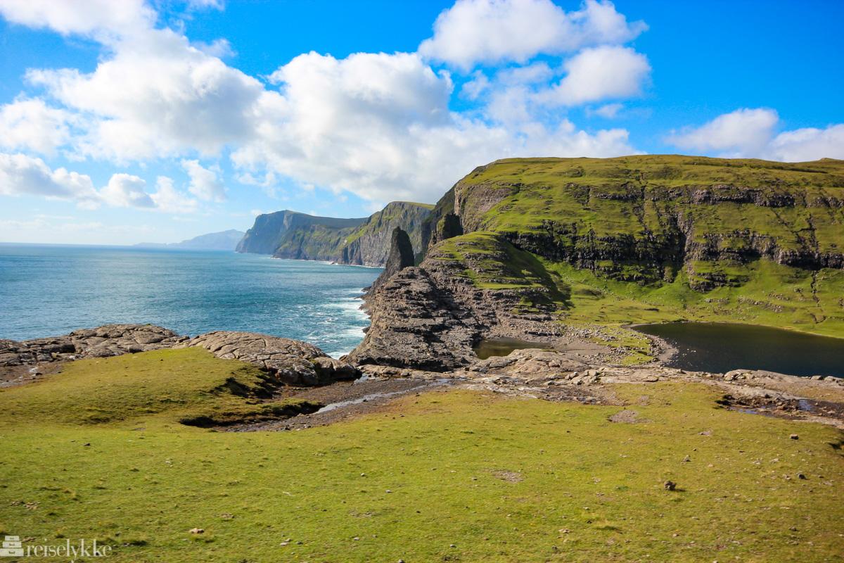 Magisk landskap på Færøyene