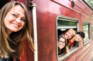 Nordic Nomads på togtur Sri Lanka