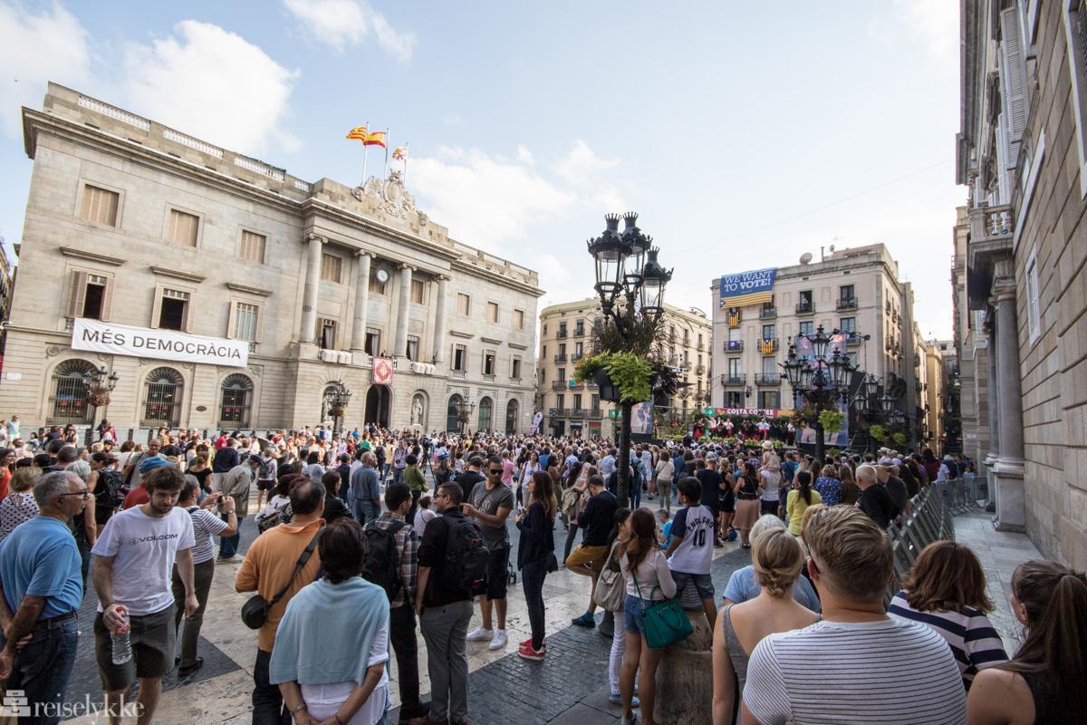 Opprørsstemning i Barcelona