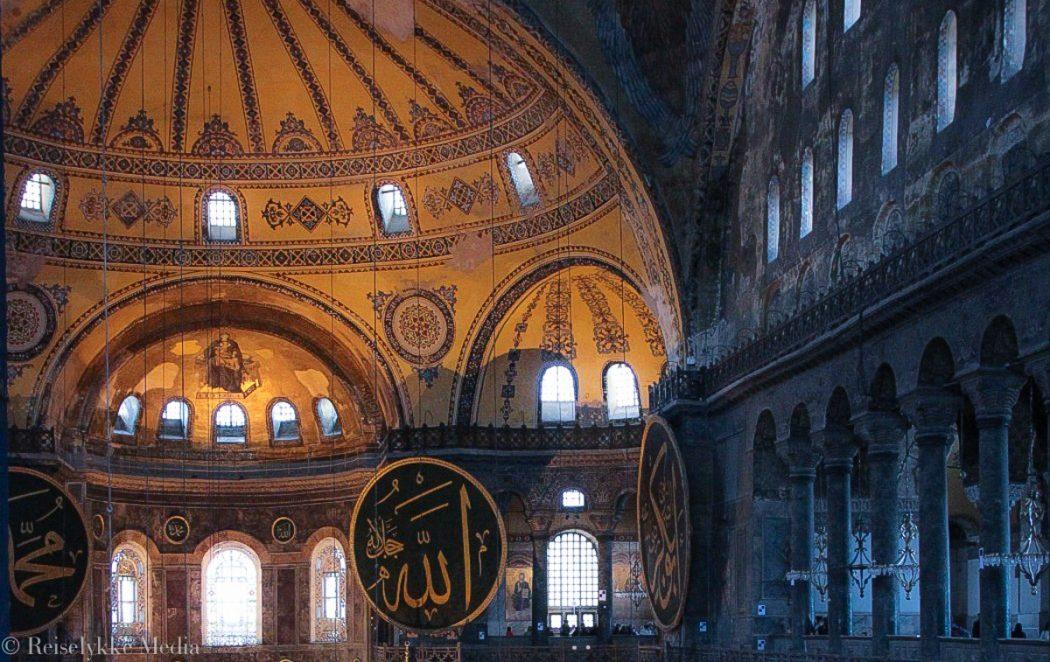 Bokanmeldelse Orientekspressen, foto fra Hagia Sofia