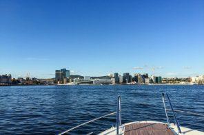Oslofjorden med Operaen