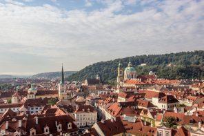 Utsikt over Praha