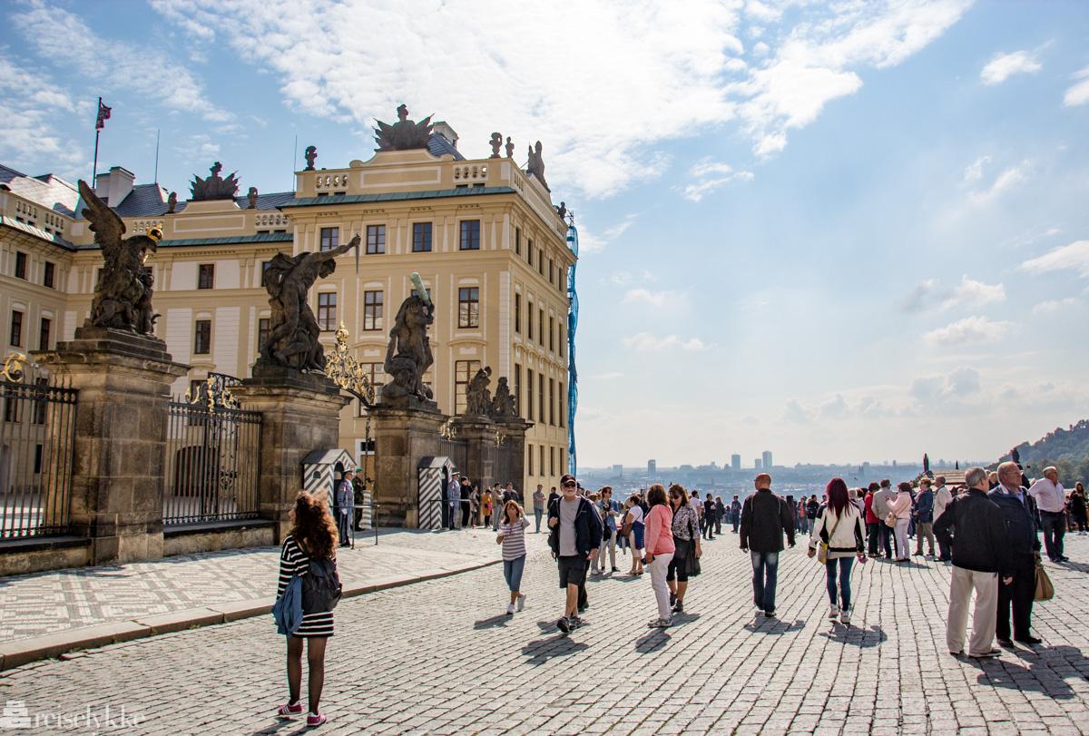 Turister i Praha