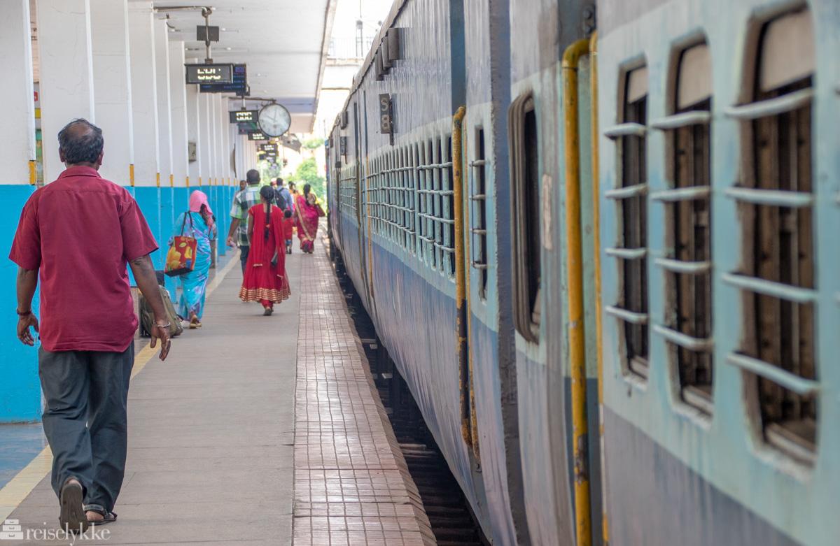 Reise med tog i India