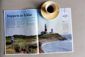 Reiseartikkel i VG levert av Reiselykke Media