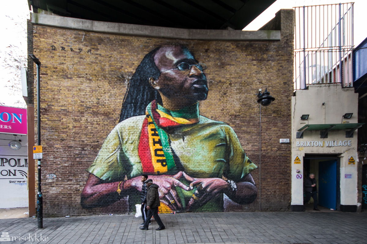 Street art i Brixton, London