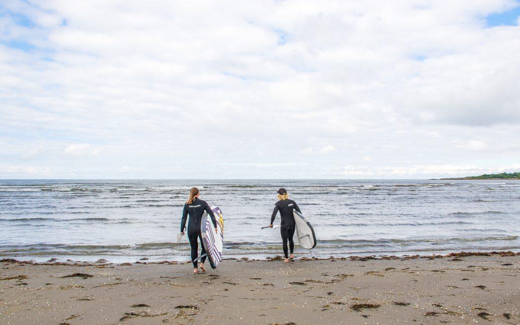 Surfing i Varberg