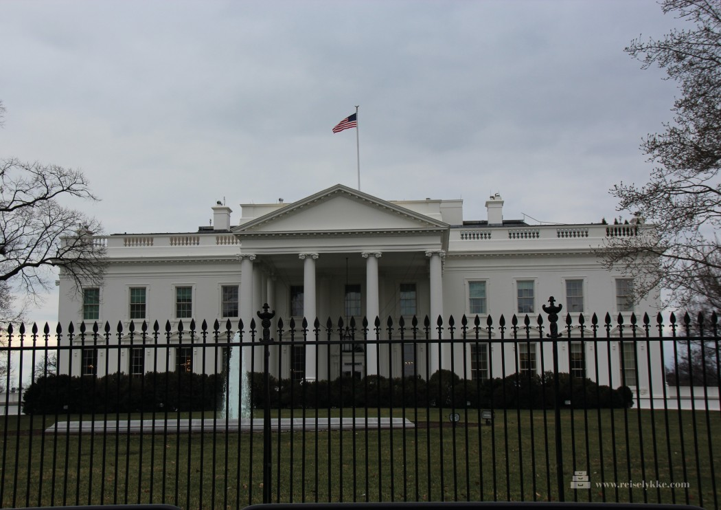 Washington DC, Det hvite hus