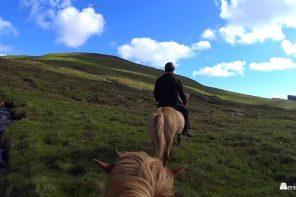 Færøyene. På ridetur