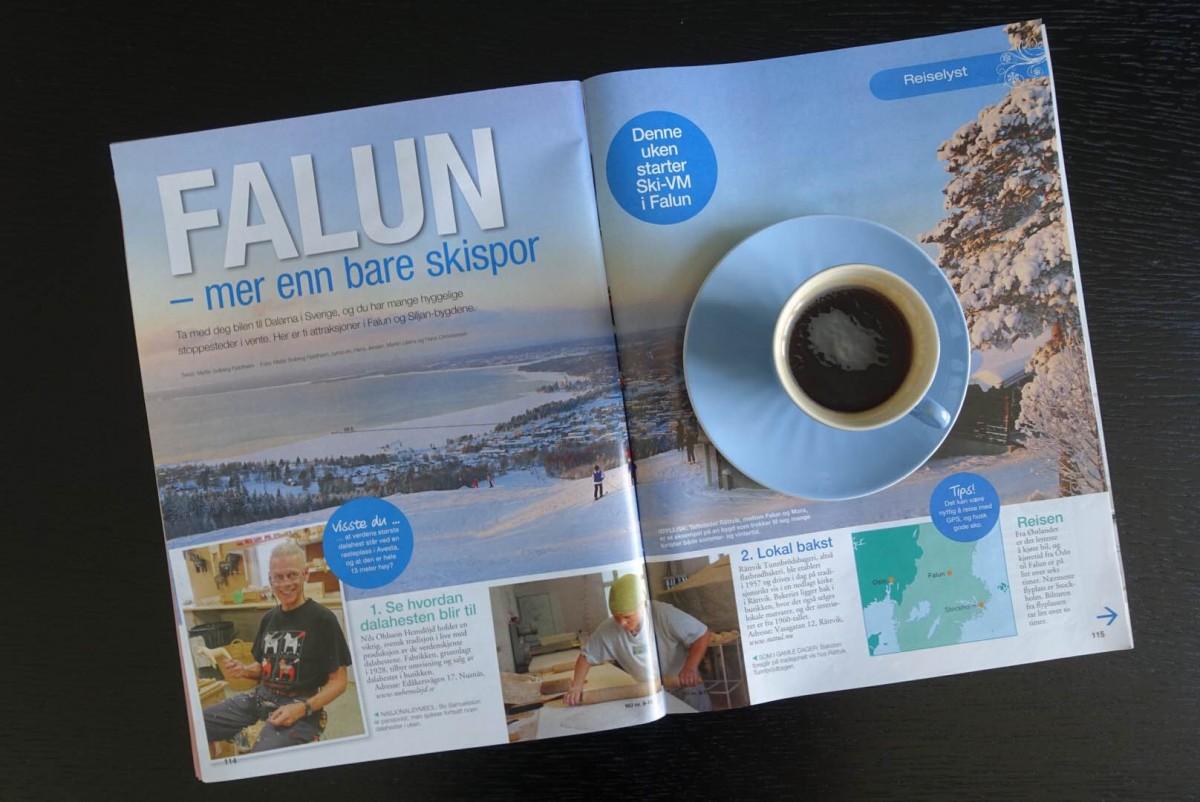 norsk ukeblad, reiselykke, på trykk, Mette Solberg Fjeldheim