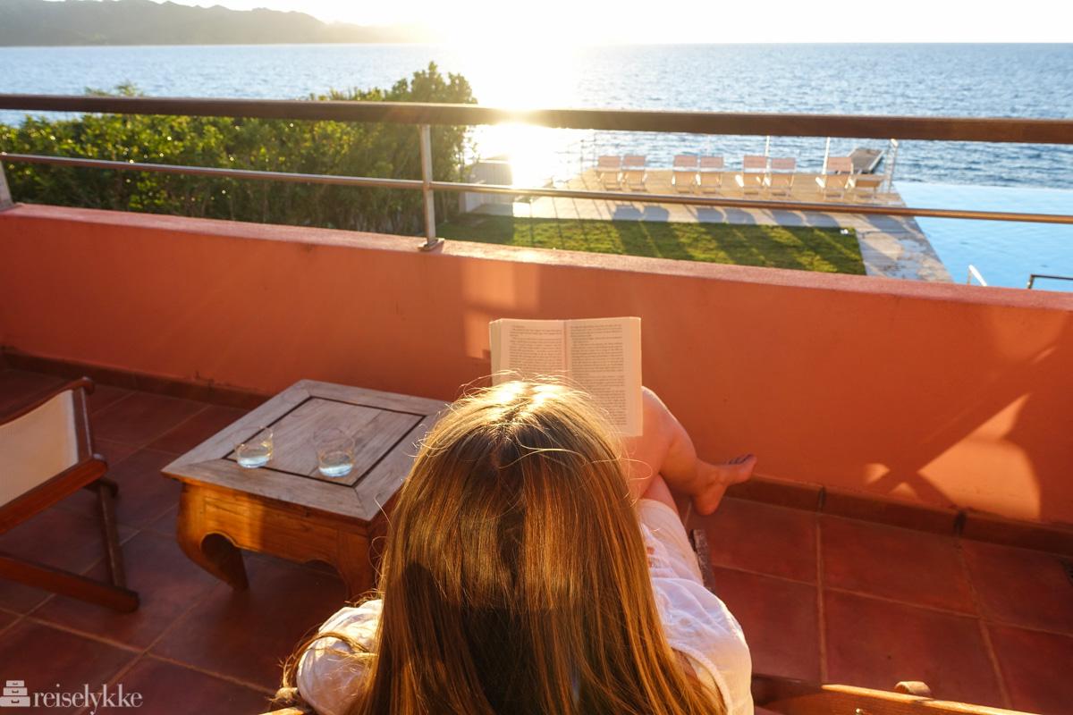 Å lese på reise
