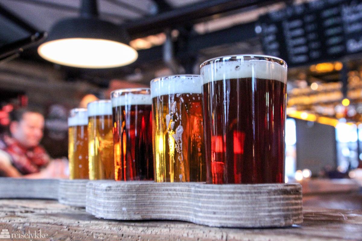 Ølsmaking på Braugasthaus Altes Mädschen Hamburg