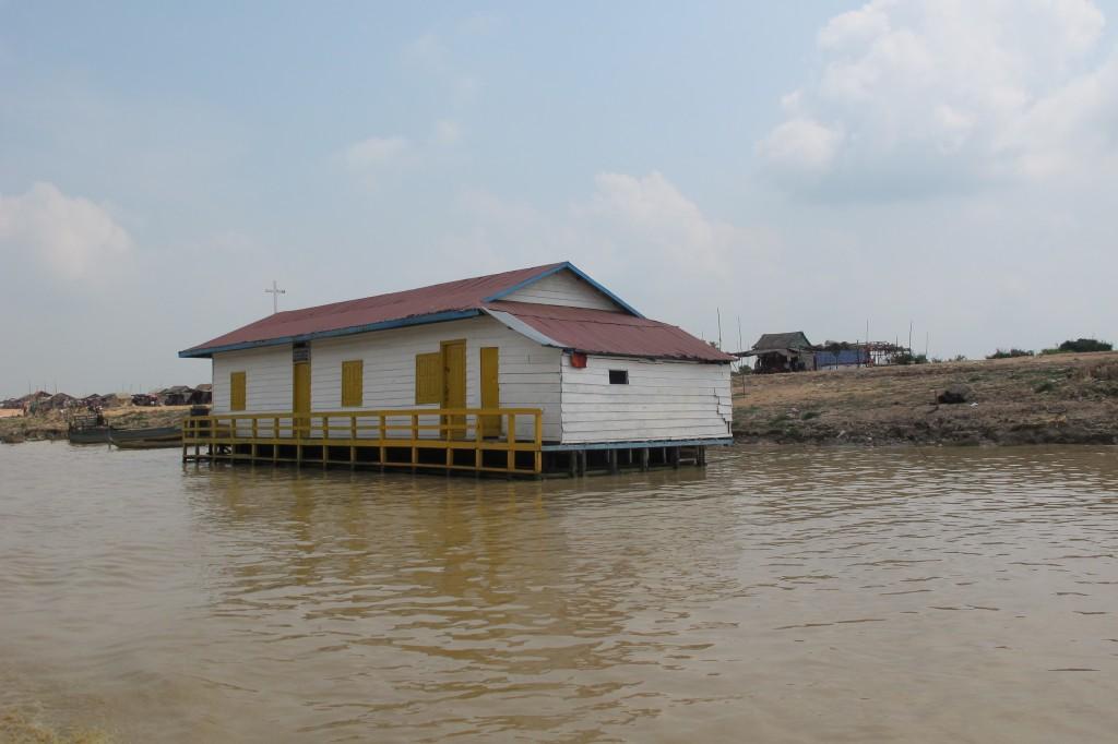 Tonlé Sap, kirke, Kambodsja