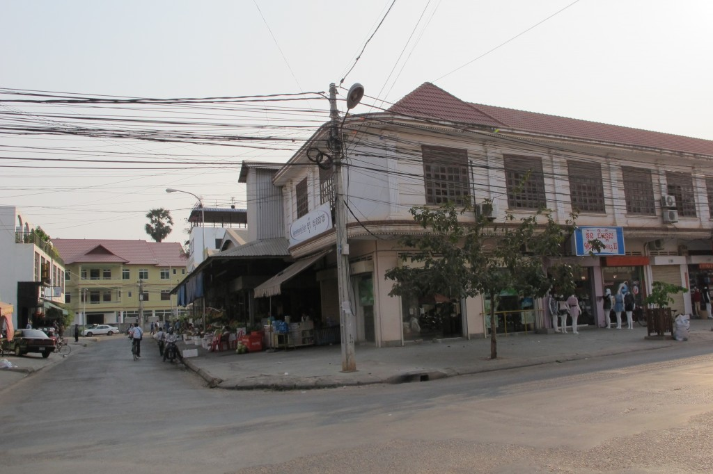 Sentrumsbilde Siem Reap