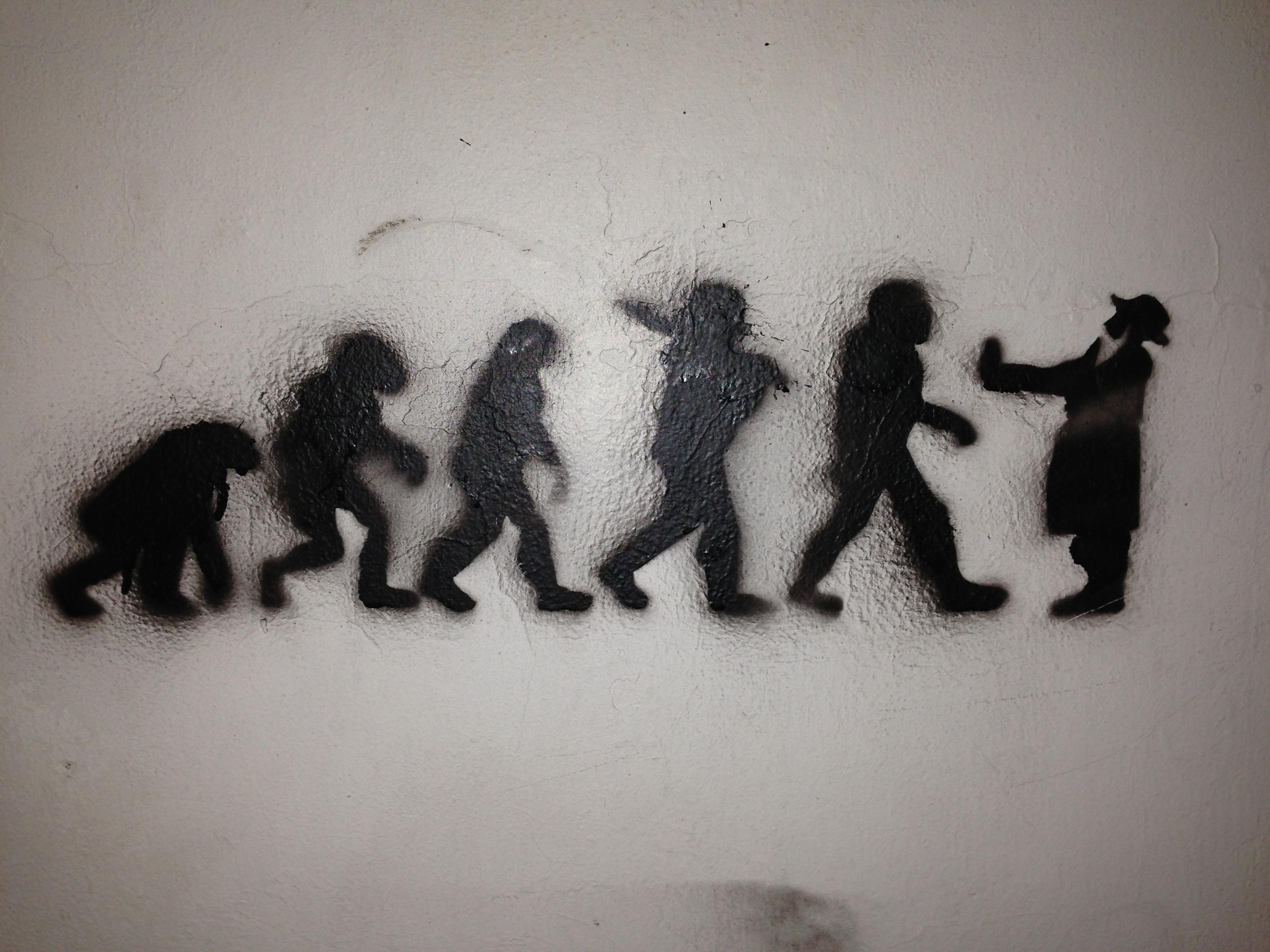 Grafitti i Tel Aviv Foto: Mette S. Fjeldheim