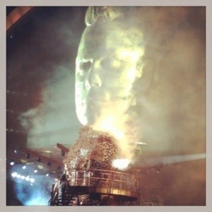 Robbie Williams in concert at Wembley Stadium Photo: Mette S. Fjeldheim