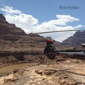 Grand Canyon by chopper Photo: Mette S. Fjeldheim