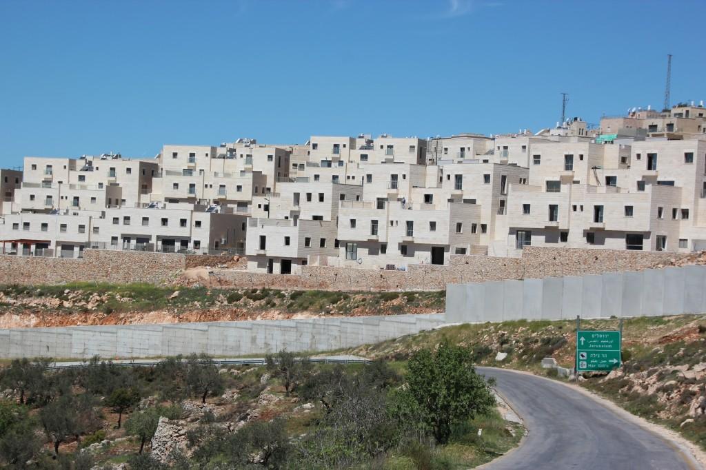 Israels bosetting på palestinsk grunn. Vestbredden Foto: Reiselykke