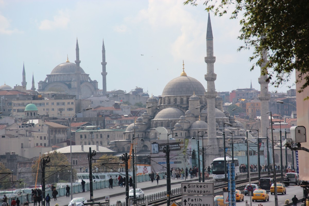 Sightseeing i Istanbul