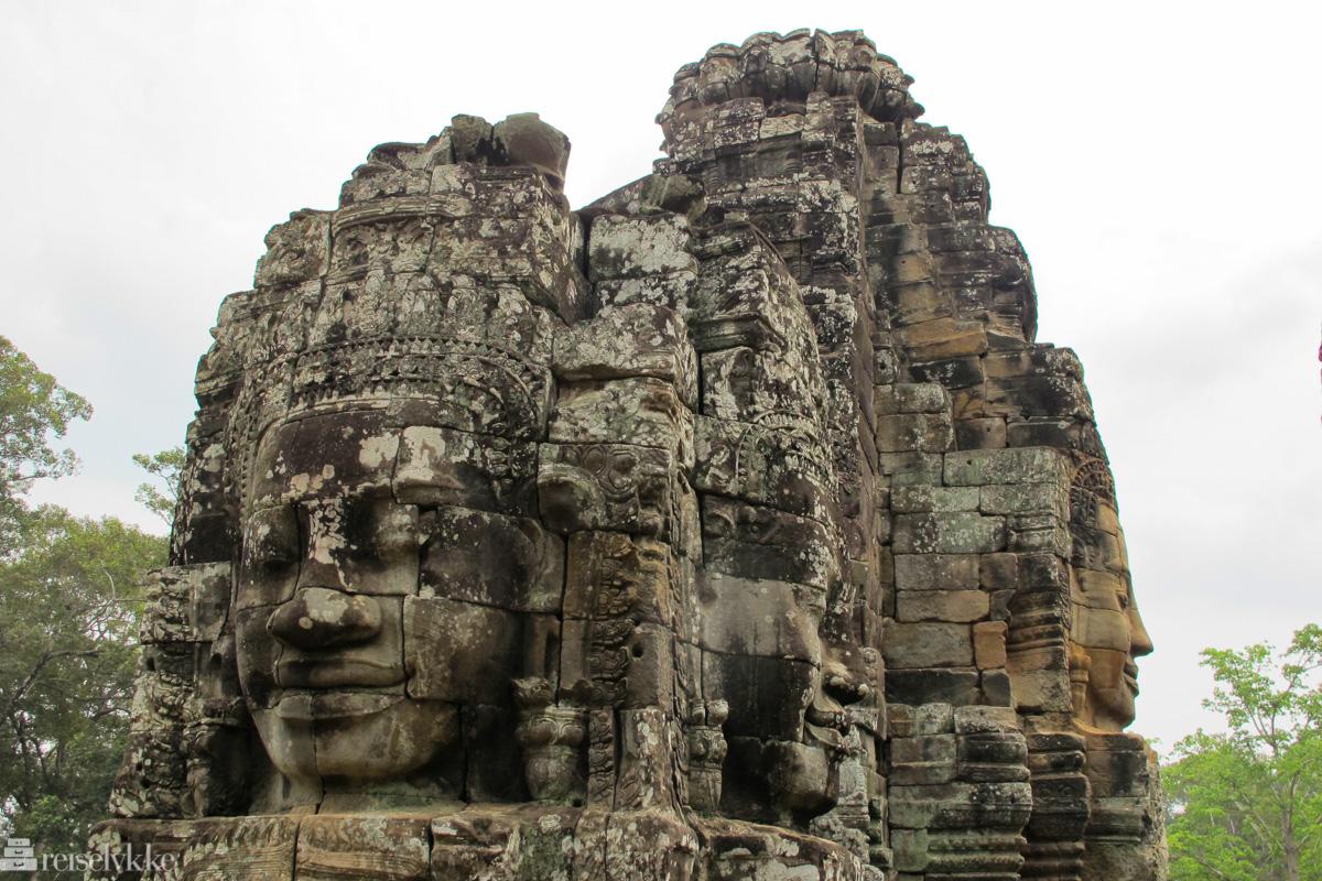 Angkor Thom i Kambodsja