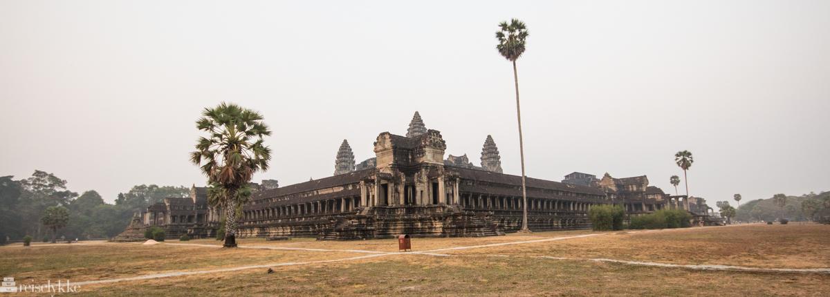 Angkor Wat bakside tidlig morgen