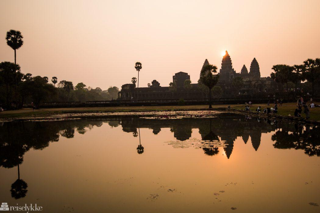 Angkor Wat i soloppgang