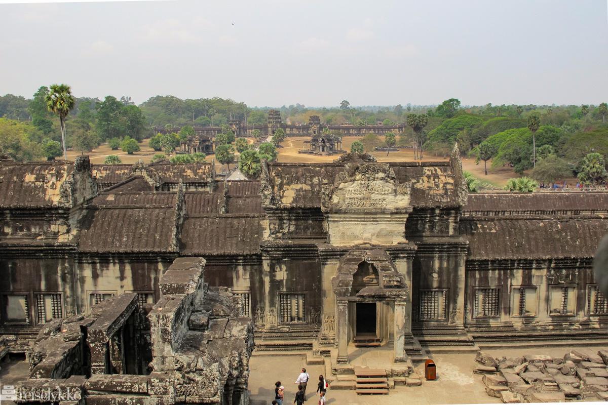 Angkor i Kambodsja