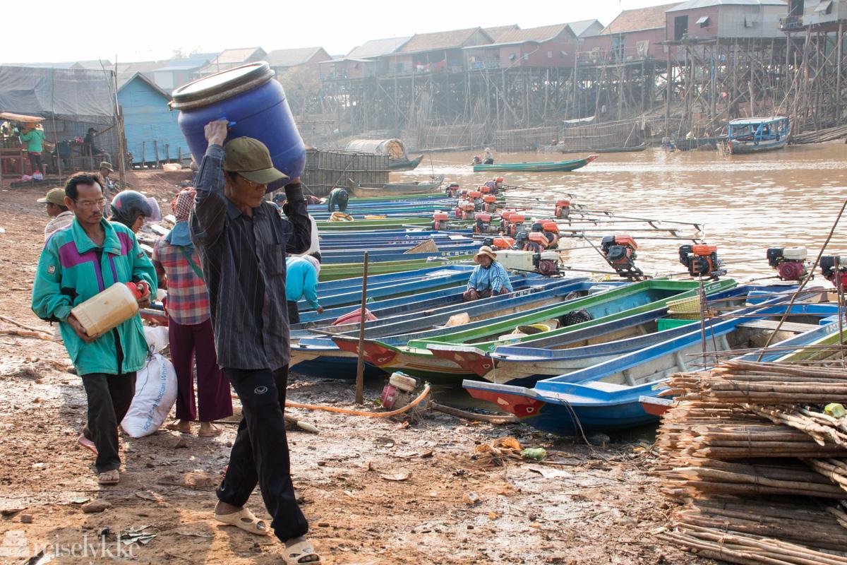 båthavn Tonlé Sap