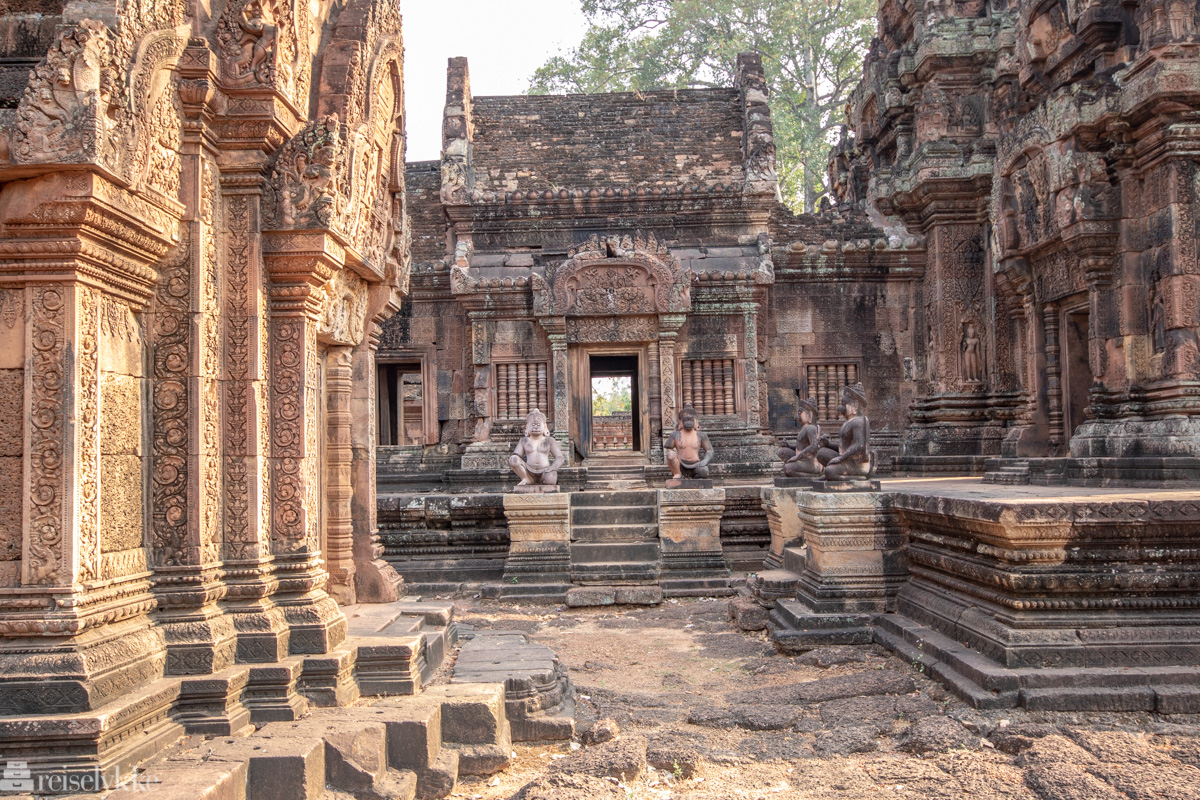 Banteay Srei Kambodsja