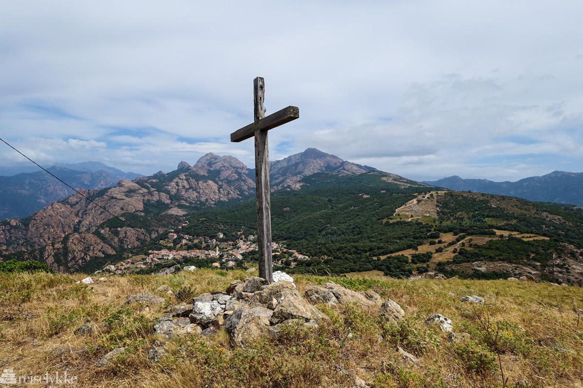 Belvedere utstiktspunkt Korsika