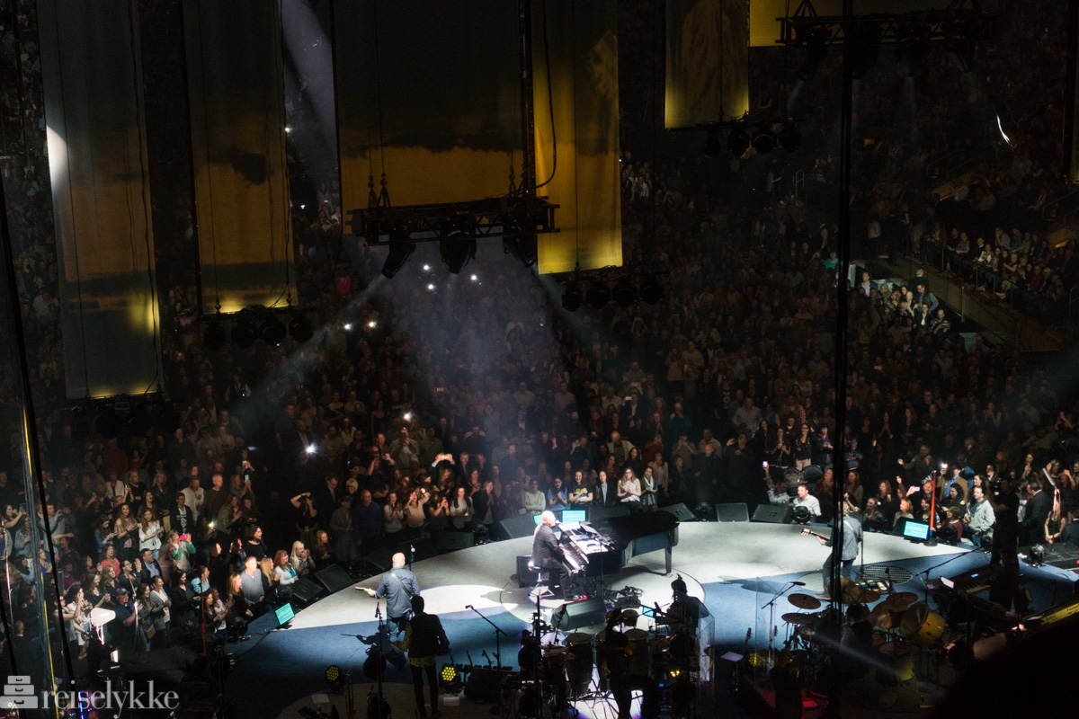 Billy Joel konsert i New York