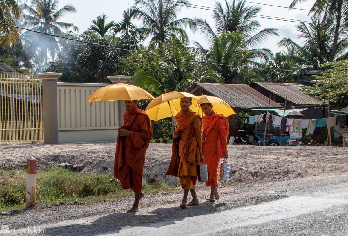 Buddhistiske munker i Kambodsja