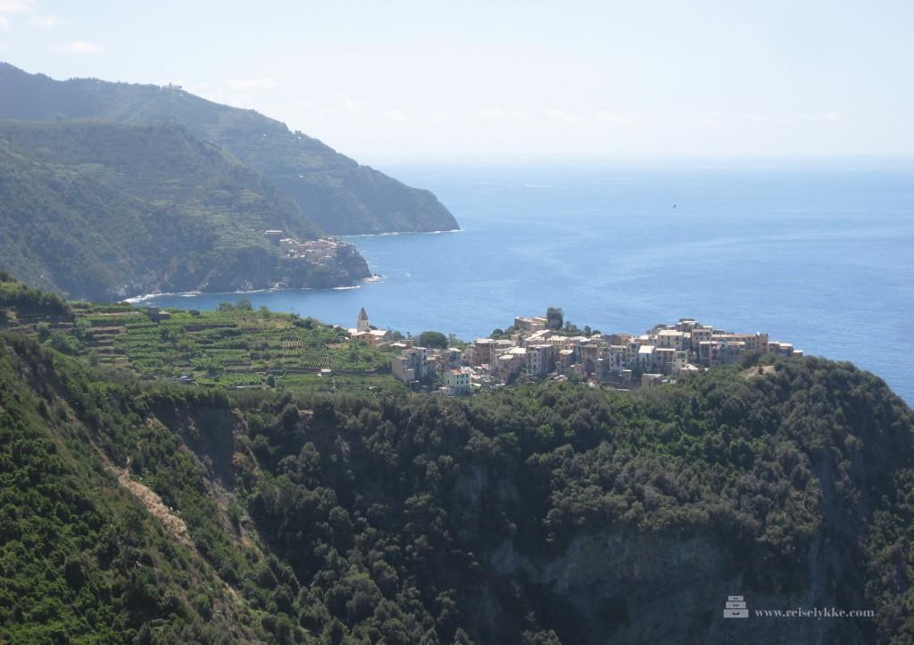 Cinque Terre: fem italienske byer_Corniglia