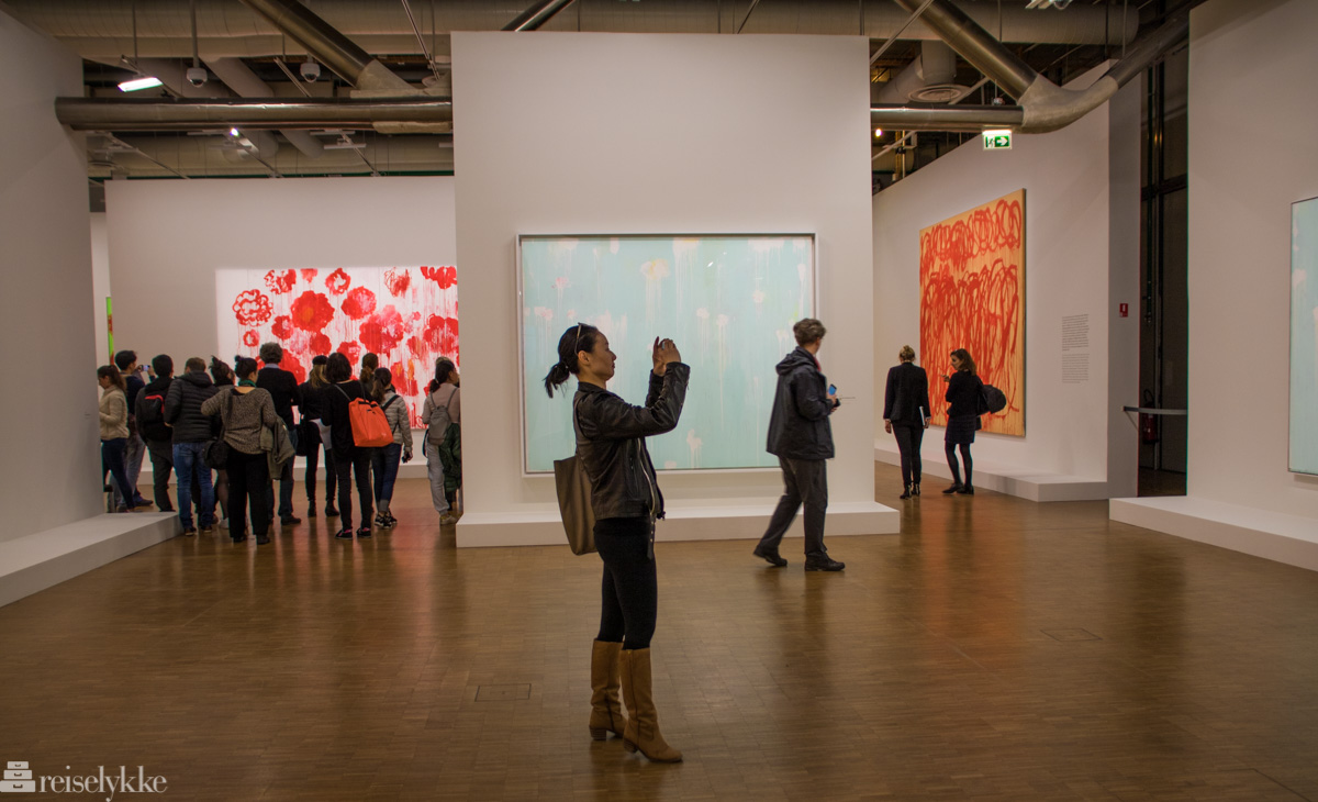 Cy Twombly i Centre Pompidou, Paris