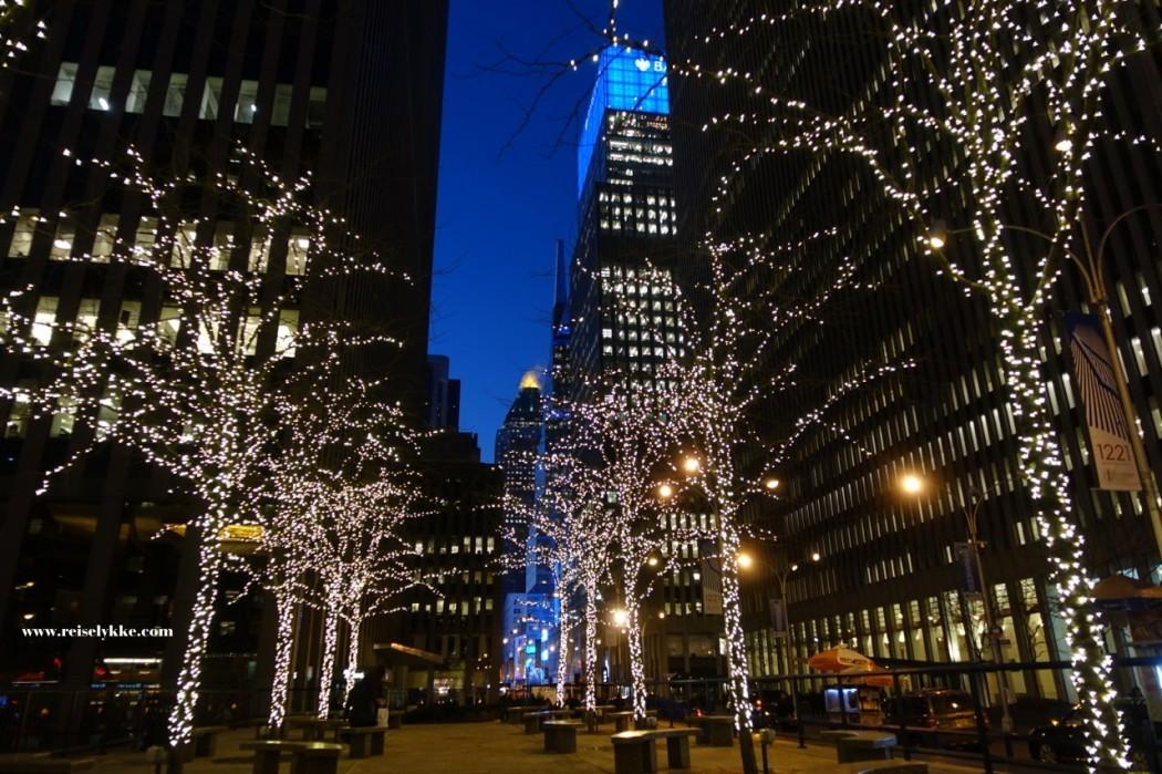 New York om vinteren
