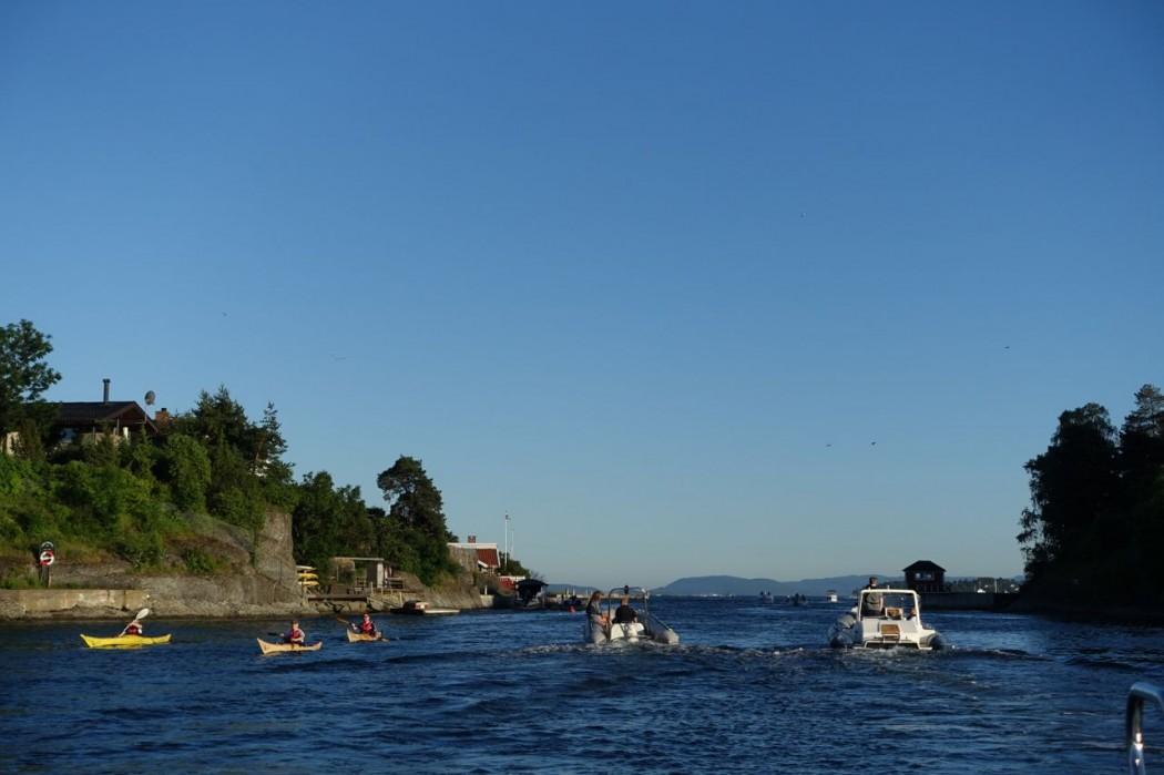 Sommer, Oslofjorden