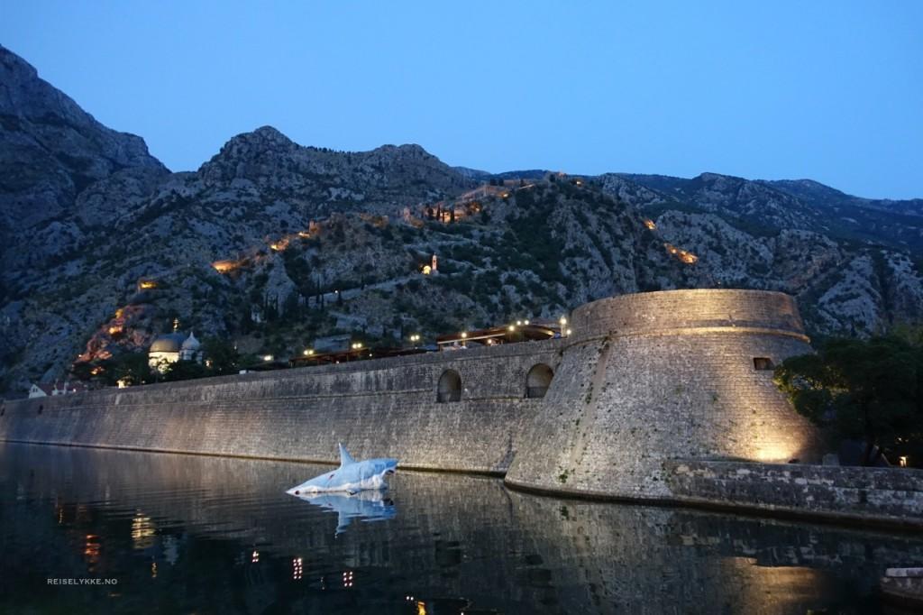 Overnatting i Kotor, Montenegro