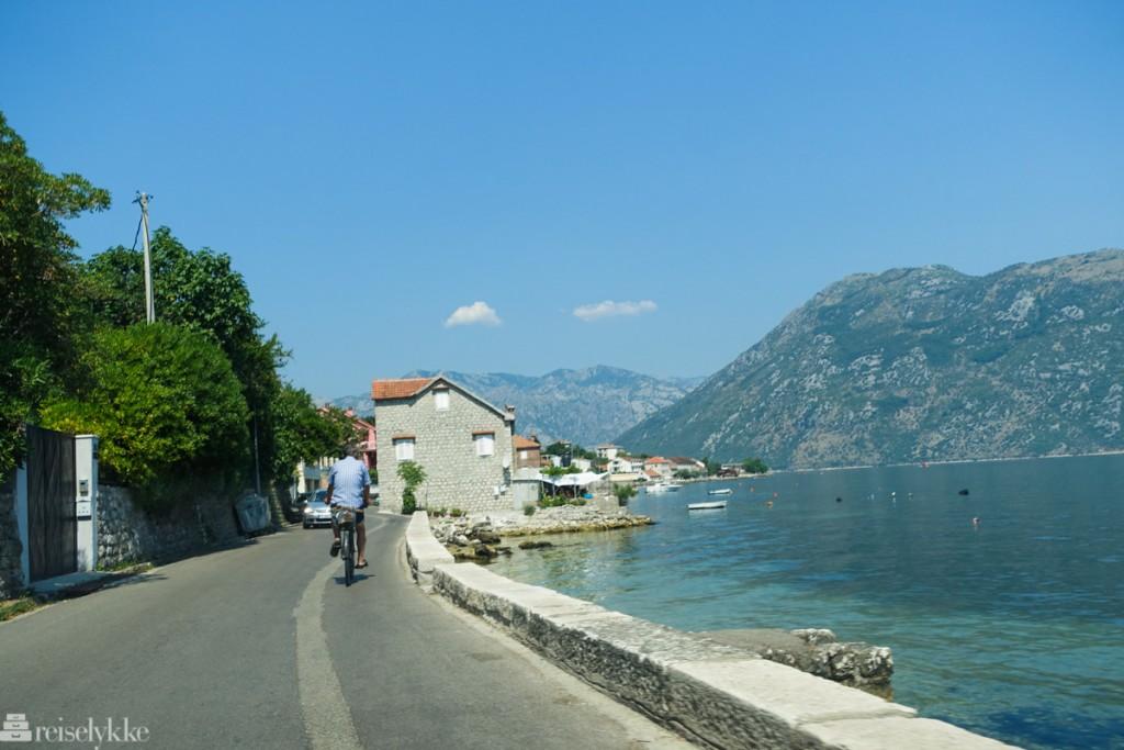 Bilreise gjennom Montenegro