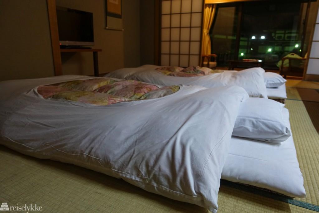 En natt på ryokan, Wakamatsu Honten i Japan