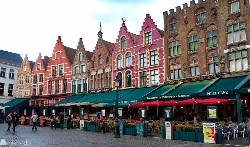 Hanseatisk byggestil i Brugge