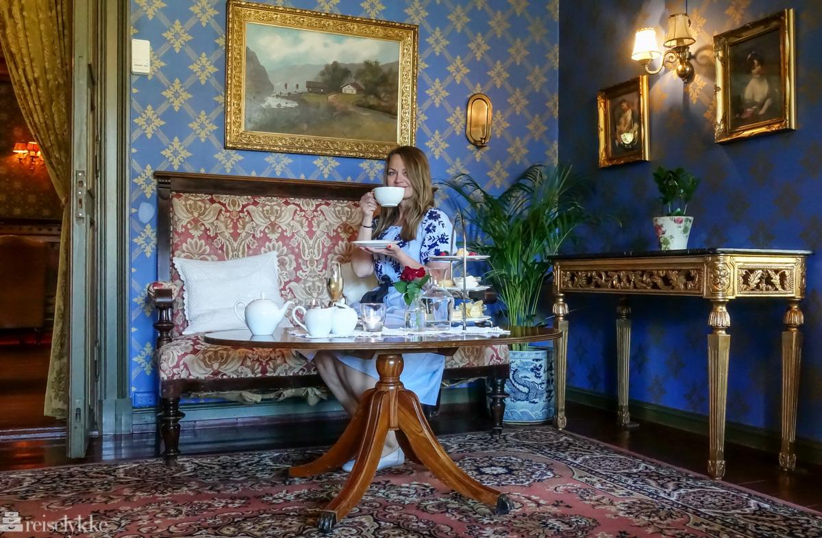 Dalen Hotel_Afternoon Tea i herskapelige omgivelser