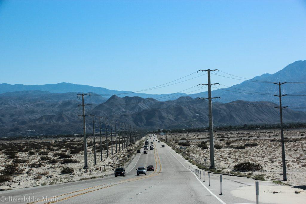Desert Trip, kjører til Indio