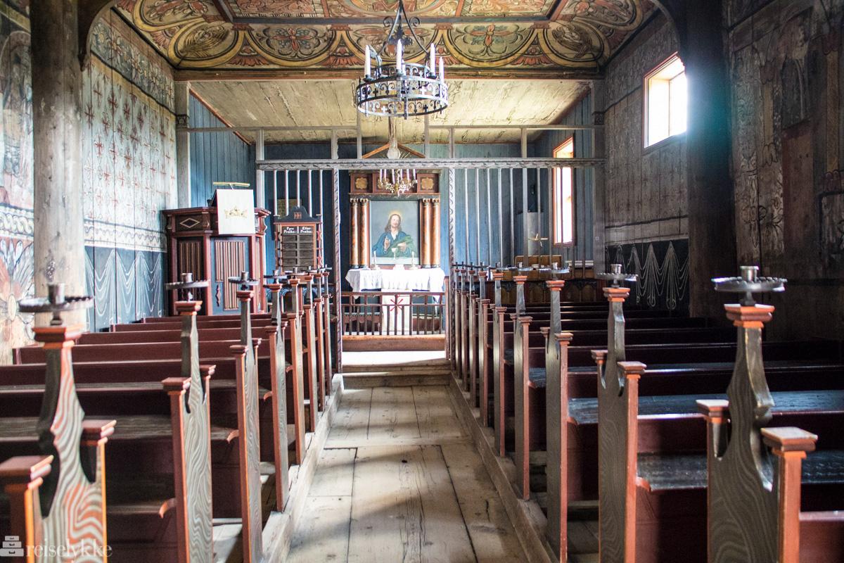 Eidsborg Stavkirke fra 1260