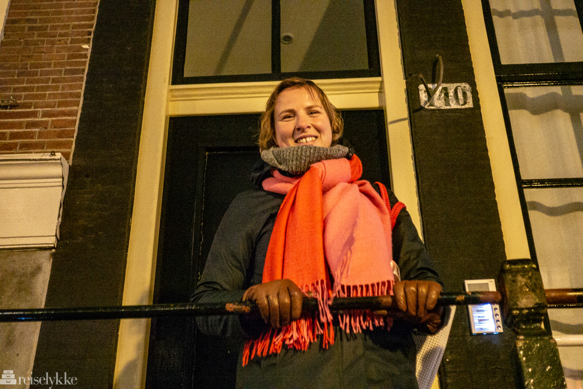 Fransje Gorter lokal guide i Amsterdam