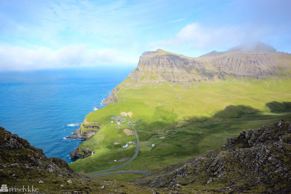 Gásadalur på Færøyene