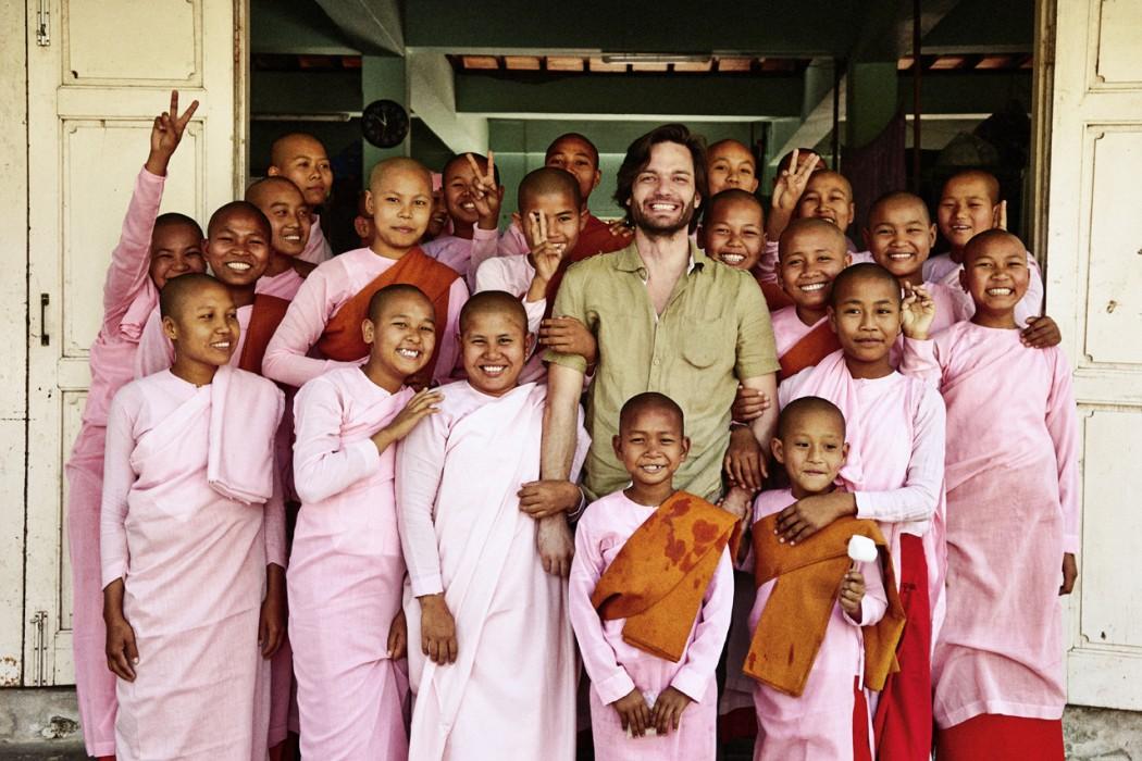 Kjetil Hasselgård i Myanmar