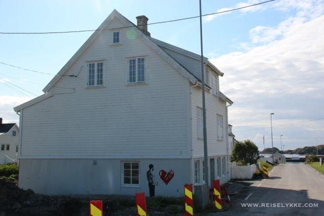 Gatekunst Utsira_ordførerens hus