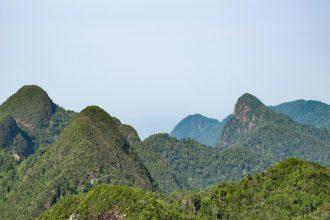 Langkawii: unedelig med jungel og grønne skoger