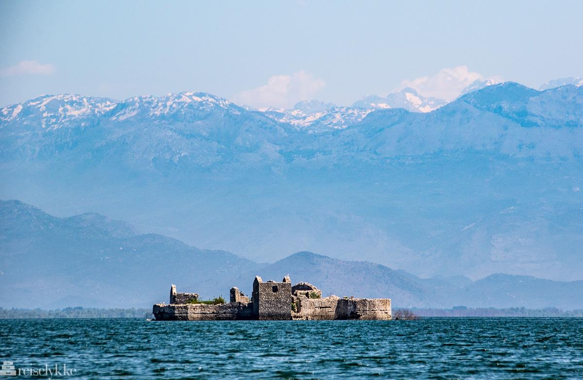 Grmožur ved Shkodërsjøen Montenegro